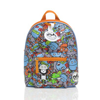 Zip&Zoe mini backpack robot blue 1-4yrs