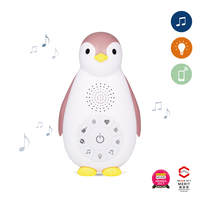 Night light & Music box ZOE pink