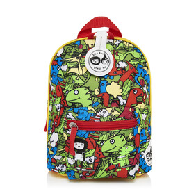 Mini Backpack Dino Multi 1-4yrs Zip & Zoe